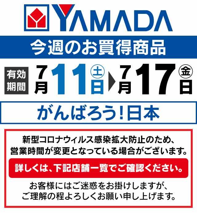 ヤマダ電機 テレビ チラシ